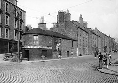 Dens Road (Dundee City Archives) Tags: densroad cottonroad old olddundeephotos dundee photos victorian victorianhousing victoriantenements setts cobbled dairy confectioner 1920s learmonth dairykeeper shop retail 2densroad