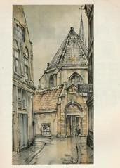 Anton Pieck- Bemin dan Amsterdam, 1948 ill   Bagijnhofpoortje (janwillemsen) Tags: antonpieck amsterdam bookillustration 19451948