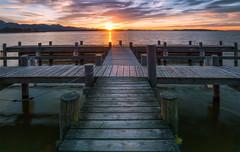 Chiemsee (Croosterpix) Tags: lake water sunset colors sky chiemsee germany bayern bavaria nikond610 nikkor1835