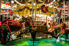 old carousel (makizekai16) Tags: carousel game toy horse light games colors