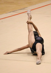 (popplefilm) Tags: gymnastics girl hot sexy upskirt cameltoe