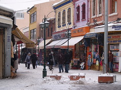 Winter in Eskişehir, Turkey (Steve Hobson) Tags: eskişehir turkey winter snow
