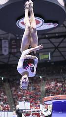 gymnastics005 (Ayers Photo) Tags: sports canon utahutes utah utes red redrocks gymnastics barefoot bare foot feet toes toe barefeet woman women