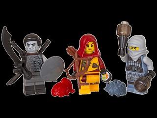 LEGO 853687 Accessory Pack Ninjago minifigures
