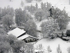 Neige à Vercorin