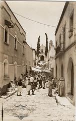 Calle de Tepetates,Cuernavaca,Morelos (FotografiaElOjoCallejero) Tags: gente antiguatarjetapostalmexicana cuernavaca morelos vistasrurales mexicoantiguo photografia arte
