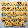 Emoji Cookies (cREEative_Cookies) Tags: emojis emoticons expressions decorated sugar cookies royal icing custom decorating creeative cookie yummy birthday nom food art edible