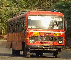 Buldhana - Wardha (yogeshyp) Tags: msrtc maharashtrastatetransport msrtcparivartanbus buldhanawardhastbus wardhadepotbus