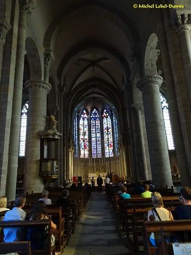 27. Cité Médiévale de Carcassonne - Nef de la Basilique Saint Nazaire