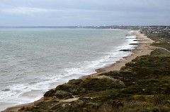 Bournemouth beach from Hengistbury Head 17.3.17 (baz/teemanning) Tags: bournemouthbeach bournemouth hengistburyhead waves beach sand groins groynes sandybeach shinglebeach 7milesofgoldensands goldensands englishriviera southcoast