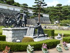 Nihonmatsu-jou (Stop carbon pollution) Tags: japan 日本 honshuu 本州 touhoku 東北 fukushimaken 福島県 nihonmatsu 二本松 castle 城