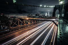 New York (Tim RT) Tags: tim rt usa newyork new york city manhattan brooklyn bridge traffic street night light orange blue yellow sky skyline cluds world travel dark beautiful autdoor visual inspired hyperbeast fuji fujifilm xt xt2 xf1024mm picture