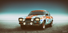Ford Escort 1969 (>>Marko<<) Tags: auto car ford escort rally sportscar classic photoshop joensuu suomi finland canon valokuvaus vehicle gulf cibie hella champion ppg
