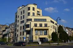 Franklin Rooseveltlaan 52, Brussel (Erf-goed.be) Tags: appartementsgebouw adrienblomme brussel archeonet geotagged geo:lon=43823 geo:lat=508109