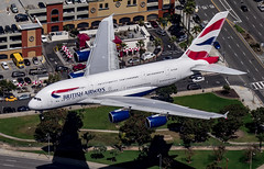a380 (mrsyclone) Tags: air2air airbus a380 world wow epic lax lhr london helicpoter ba 380 landig magic losandeles usa uk boeing aviation level top