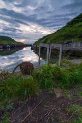 Seaton Sluice (Callaghan69) Tags: uk sunset water clouds reflections scenery harbour northumberland seatonsluice northeastengland tokina1116 nikond7100