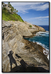 Shadow Man (seagr112) Tags: hawaii unitedstates oahu portlock spittingcave