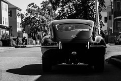 E-Type Jag (CTPHOTOG) Tags: green cars car vintage antique automotive racing jag british jaguar coupe v6 etype v12