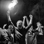 Fans de foot - Lausanne - Coupe du Monde 2014 - Après le match Suisse - Honduras (Séquence nostalgie) thumbnail
