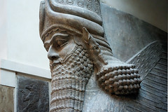 Lamassu from the citadel of Sargon II, Dur Sharrukin