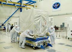 GOES-R ABI Delivered (NOAASatellites) Tags: bestof satellite nasa nextgeneration abi instruments noaa geostationary lockheedmartin exelis weathersatellite goesr nesdis advancedbaselineimager spacesegment noaasatellites noaasatelliteandinformationservice