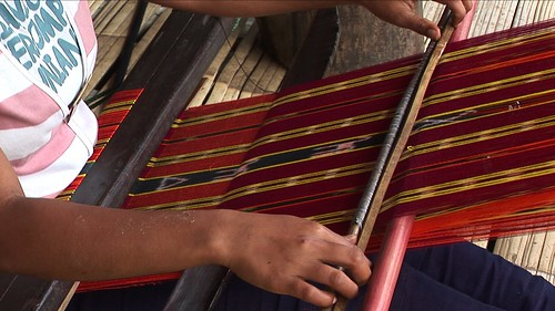 Indonesia - Flores - Traditional Village Bena - Weaving - 54