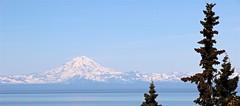 Mount Redoubt (heikebeudert) Tags: snow mountains nature alaska volcano berge vulkan