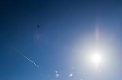 Spirit above (Nick Collins Photography, Thanks for 3.6 million v) Tags: flying spirit aircraft military missouri b2 stealth usaf raf fairford afb grumman whiteman northrup