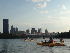 Happy Hour Paddle 7/11/14 (Jo Outdoors) Tags: up stand boards kayak paddle kayaking sup kayakpittsburgh paddleboards ventureswpa venturesouthwestpa
