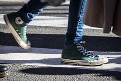 Sneaker magic ([S u m m i t] s c a p e) Tags: bluemountains solstice streetparade katoomba wintermagicfestival