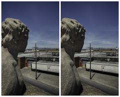 Overlooking (-ytf-) Tags: nyc newyorkcity brooklyn 3d stereo williamsburg bushwick crossview ytf ytfnyc