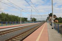 Niedoradz train station 23.06.2014 (szogun000) Tags: railroad building station canon tracks poland polska rail railway platforms pkp lubuskie lubusz canoneos550d canonefs18135mmf3556is niedoradz d29273