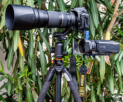 Nikon D810 + 4K Sony FDR-AX100/B 4K Video Camcorder For Shooting Stills and Video @ The Same Time of The Pro Surf Goddesses! (45SURF Hero's Odyssey Mythology Landscapes & Godde) Tags: lens for is nikon aluminum with photos d 5 tripod taken sp mounted di mm tamron vc sturdy usd vanguard shown lightroom the 810 tamrom d810 f563 nikonmount nikond810 150600 150600mm lightroom5 d800e lightroom53 malibuthenew4ksonyfdrax100b4kvideocamcorderfdrax100fdrax100sonystillsandvideosametimebracket