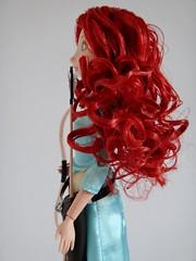 2014 Merida Deluxe Talking 11'' Doll Set - Deboxed - Standing - Midrange Right Side View (drj1828) Tags: us doll princess merida brave talking purchase disneystore 11inch productinformation deboxed