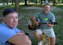 Steve Montgomery and Wally Grummun