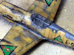 1:72 Messerschmitt Bf 109 E-7/trop.; Iraqi Air Force (  ; Al Quwwa al Jawwiya al Iraqiya) aircraft ' (4053)', part of German Luftwaffe's 'Fliegerfhrer Irak'/'Sonderkommando Junck'; Mosul (Iraq), May 1941 (Whif - Hobby Boss kit) (dizzyfugu) Tags: war force desert aviation air iraq trop bf 1941 diorama 109 fictional messerschmitt irak whatif anglo modellbau luftwaffe junck whif sonderkommando dizzyfugu fliegerfhrer