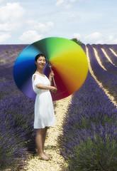 umbrella (fotopierino) Tags: france umbrella provence colori francia provenza lavanda campi valensole fotopierino