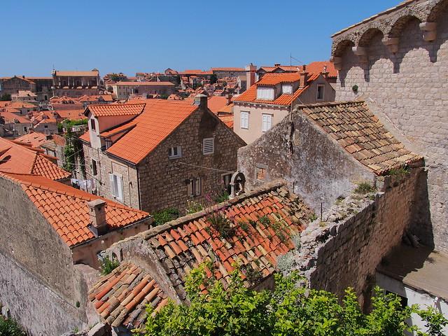 高處俯視Dubrovnik