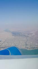Arica (pslachevsky) Tags: chile mar ciudad ala desierto avión arica vuelo vistaaérea fotosdeabril2011
