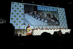 Craig Ferguson, D. B. Weiss, David Benioff, Pedro Pascal, Nikolaj Coster-Waldau, Gwendoline Christie, Rory McCann, Maisie Williams, George R. R. Martin, Natalie Dormer, Sophie Turner, Kit Harington, Rose Leslie & John Bradley (Gage Skidmore) Tags: california david game rose john george san comic williams martin sophie diego rr center rory db pedro bradley leslie convention craig christie natalie kit pascal turner weiss hbo con ferguson mccann maisie nikolaj gwendoline thrones harrington dormer 2014 waldau coster benioff