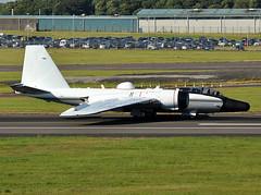 NASA WB-57F (np1991) Tags: uk usa america scotland airport united kingdom nasa states usaf prestwick ayrshire c17a wb57f