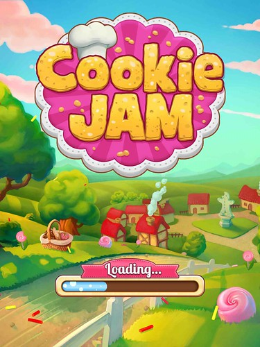 Cookie Jam Loading: screenshots, UI
