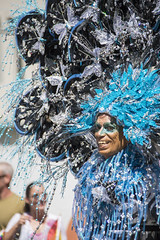 """Vancouver Pride Parade 2014 - 0194 (gherringer) Tags: blue summer music canada vancouver fun happy bc smiles butterflies pride parade colourful sequins vanpride """"west end"""""""