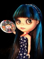 Blythe-a-Day August 2014#2: Your Day: Georgie Says Hi!