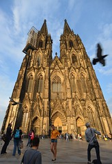 Activity (Wade Bryant) Tags: germany angle cathedral flight wide posing cologne tourists capture