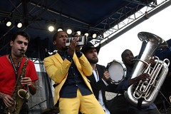 Jon Batiste at the Newport Jazz Festival 2014, August 1-3, Newport, Rhode Island
