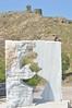 (Tiggster) Tags: sculpture fort lesvos sappho nikond3200 lesbianicon greekicon greekpoet erosos