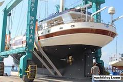 KRM Yacht Relaunch 32m Superyacht Sea Attractiveness (yachtblog) Tags: yacht relaunch attractiveness superyacht