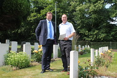 """Stephen Mosley MP meets Commonwealth War Graves Commission to discuss war graves in Chester • <a style=""""font-size:0.8em;"""" href=""""http://www.flickr.com/photos/51035458@N07/14724407905/"""" target=""""_blank"""">View on Flickr</a>"""