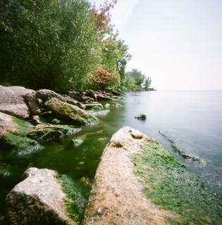 a hidden cove, Ashbridges Bay, Toronto